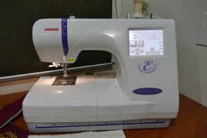 Janome Domestic Embroider (Automatic)