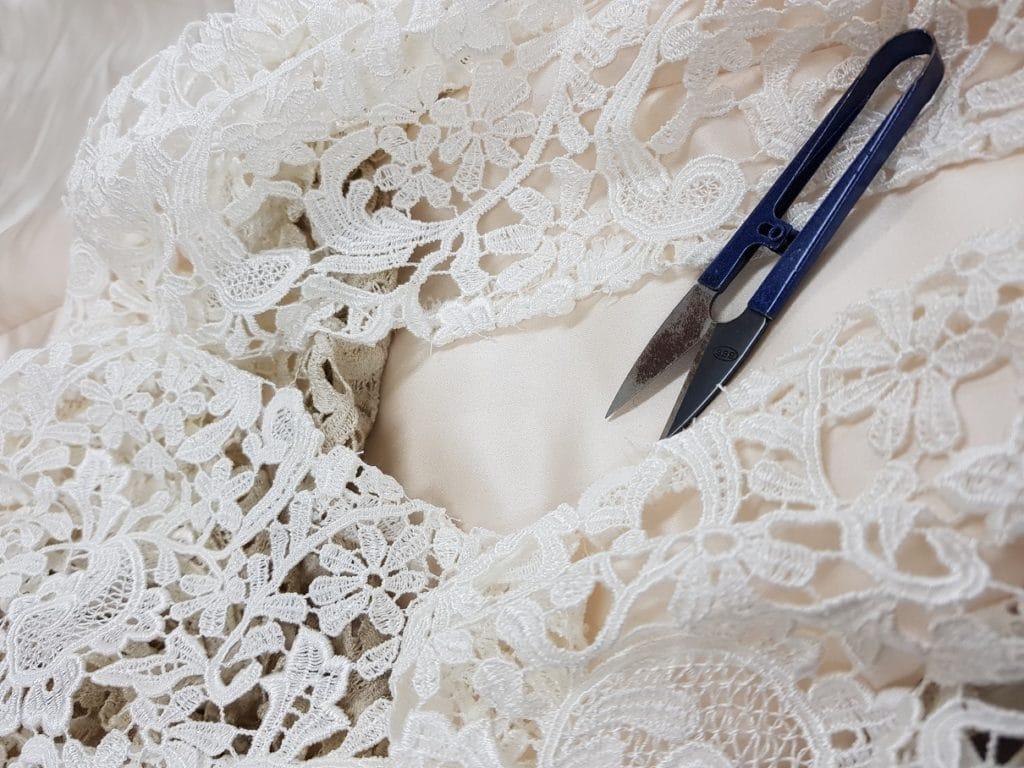 Lace Unpicking